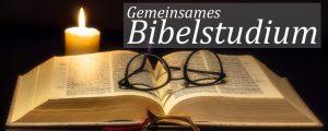 Gemeinsames Bibelstudium @ Bistro in den Gemeinderäumen GJC | Grafing bei München | Bayern | Deutschland